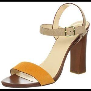 2fe1e7cf01e Cole Haan Minetta Chunky-Heel Sandal w Nikeair